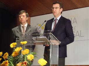 O presidente da Junta da Galiza não renuncia ao TGV Porto