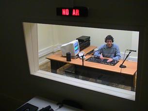 A Engenharia Rádio, com estúdios na FEUP, é um dos órgãos de comunicação da Universidade do Porto que ainda está em funcionamento Foto: Arquivo JPN