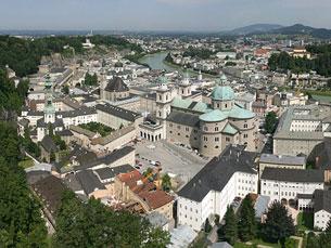Salzburgo é um dos palcos do Euro 2008 Foto: DR