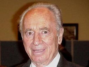 Shimon Peres concorreu sozinho na segunda volta das eleições Foto: DR