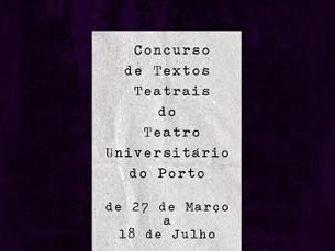As candidaturas podem ser feitas até dia 18 de julho Foto: Teatro Universitário do Porto
