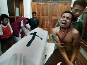 As zonas de conflito são alvo da atenção dos media Foto: Alfredo Leite/JN