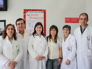 Equipa do Centro de Diagnóstico Pneumológico de Matosinhos (CDP) Foto: Cristiana Afonso