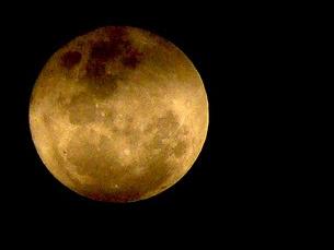 A lua vai estar no ponto mais próximo da terra Foto: Allison Norberto / Flickr