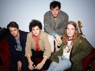 "The Vaccines vão dar música com o álbum ""Come of Age"" Foto: DR"
