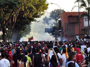 As manifestações estudantis começaram a 12 de fevereiro Foto: aandres/Flickr