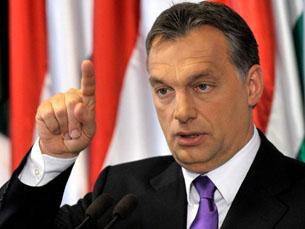 Viktor Orbán, líder do partido Fidesz e atual primeiro