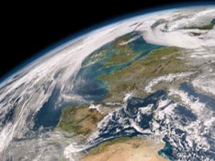 As áreas costeiras estão muito expostas aos efeitos do aquecimento global Por: NASA