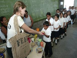 Marcha Mundial contra a Fome resulta da parceria entre o Programa Alimentar da ONU e a TNT Foto: PAM