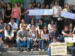 A ABIC quer a instituição de contratos de trabalho para os bolseiros que não estejam em formação Foto: DR