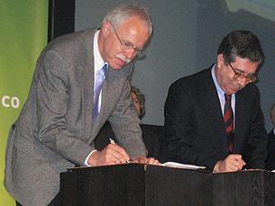 Acordo com a rede alemã de investigação foi assinada em Abril Foto: Paula Alves Silva/Arquivo JPN