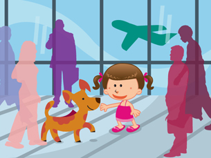 Os cães despertam a atenção dos mais pequenos aos mais velhos Ilustração: Susana Barbosa
