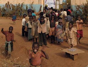 Em 2009, muitas crianças africanas vão receber milhões de dólares em fundos da UNICEF Laura Grace / Flickr