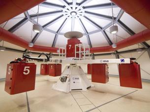 """A """"angiogravity"""" vai poder trabalhar com dispositivos de grandes dimensões disponíveis na Agência Espacial Europeia Foto: DR"""