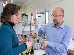 O departamento de química da Universidade de Aveiro foi distinguido com o prémio Agrofood Foto: DR