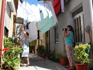 Do Ai Maria fazem parte cerca de trinta mulheres Foto: Susana Neves