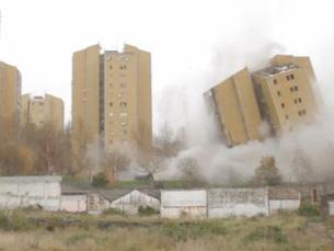 A implosão da torre 5 do Aleixo ocorreu em dezembro de 2011 Foto: P3