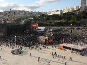 A edição do Optimus Alive!11 recebeu cerca de 160 mil pessoas durante os quatro dias do evento Foto: Graziela Costa
