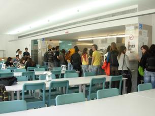 A opção vegetariana foi o resultado de uma solicitação dos alunos de Belas Artes Foto: Arquivo JPN