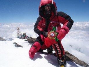 João Garcia é o 10.º homem a conseguir as montanhas do mundo com mais de oito mil metros Foto: DR