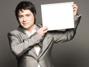 Fernando Alvim vai animar o Teatro do Campo Alegre no dia 19 de abril Foto: DR