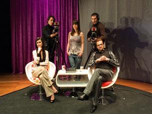 A comédia musical de Carlos Tê está em cena no Constantino Nery Foto: Carlos Azevedo