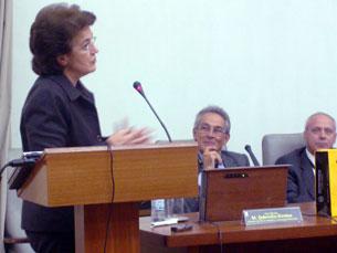 Ana Jorge esteve na FMUP Foto: Daniela Espírito Santo
