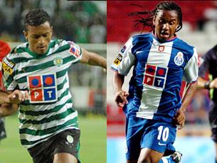 Anderson e Nani brilharam nos relvados portugueses e despertaram a atenção de grandes clubes europeus Foto: DR