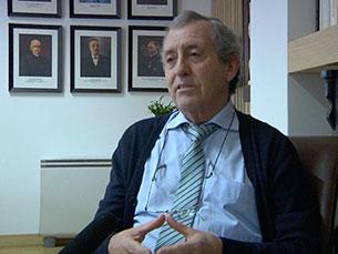 António Fernando Silva é um dos quatro candidatos a reitor da UP que vão às eleições de 30 de abril Foto: JPN