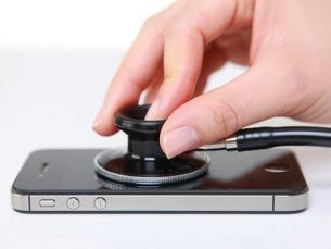 Algumas aplicações móveis médicas já permitem controlar a ingestão de calorias ou visualizar raios