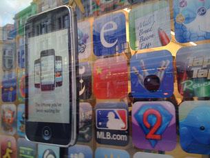 Há, só na loja online da Apple, a AppStore, 550 mil aplicações Foto: Flickr/Rebecca Cottrell