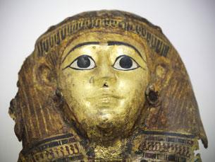 As 103 peças do acervo egípcio da UP ficam em exposição, pelo menos, até Março de 2012 Foto: Nélson Garrido/Público