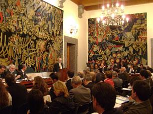 O orçamento da Câmara do Porto para 2013 foi aprovado em Assembleia Municipal Foto: Arquivo JPN