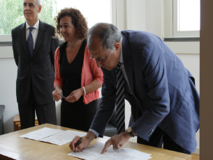 A Fundação de Serralves assinou um protocolo com a Associação Portuguesa do Ambiente Foto: Catarina Gomes Sousa