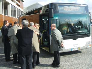 Novos autocarros a gás natural Foto: JPN