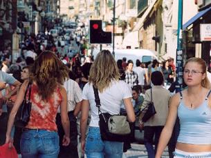 60 comerciantes da Baixa do Porto vão ser indemnizados pelos transtornos causados pela Porto 2001 Foto: Arquivo JPN