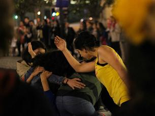 O 1.º Festival de Performance Urbana acontece no Porto, de 7 a 11 de maio Foto: Inês Graça