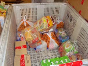 Acção de solidariedade permitiu recolher 2 mil toneladas de alimentos Foto: Arquivo JPN