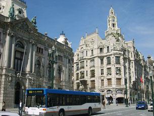 O edifício do Banco de Portugal no Porto Foto: Flickr