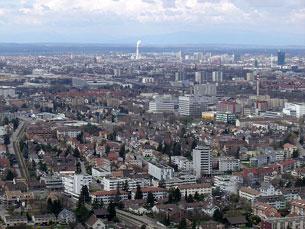Basileia está situada no noroeste suíço Foto: DR