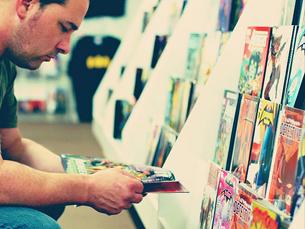 """A """"Mundo Fantasma"""", no shopping Brasília, vende BD's há mais de 20 anos Foto: DreamOfNyssa/Flickr"""