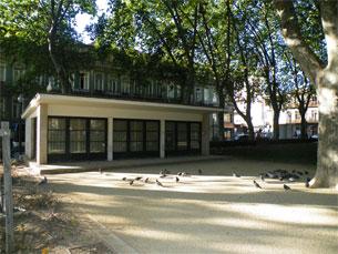 A Biblioteca do Marquês foi encerrada a primeira vez em 2010, devido às obras da Metro do Porto Foto: Arquivo JPN