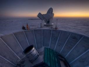 O telescópio do polo Sul Foto: DR