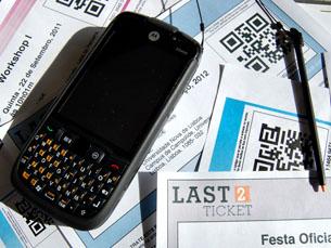 A Last2Ticket desenvolveu um sistema de bilhetes eletrónicos para eventos como festivais, concertos, conferências e museus Foto: DR