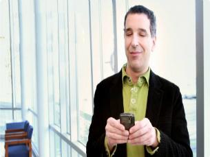 A nova aplicação permite que invisuais acedam ao email no smartphone, entre outras funcionalidades Foto: DR