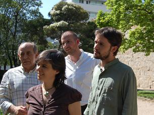 O roteiro do Bloco de Esquerda passou por três locais importantes da cidade. Foto: Mariana Catarino