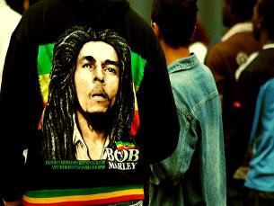 A imagem de Bob Marley está mundialmente difundida Foto: mdemon / Flickr
