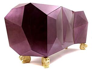 Aparador Diamond é um dos produtos da Boca do Lobo Foto: DR
