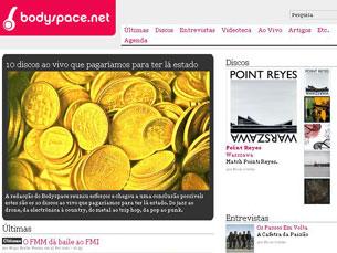 Para setembro está previsto o lançamento do novo site Bodyspace Foto: DR