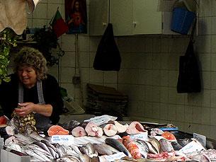 Comerciantes receiam pelo seu futuro no Bolhão Foto: Liliana Lopes/Arquivo JPN